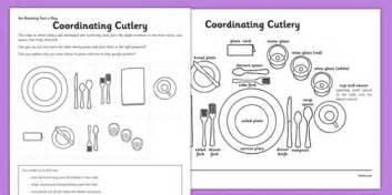 Forks Knives Worksheet Answers by Coordinating Cutlery Activity Sheet Knives Forks Spoons