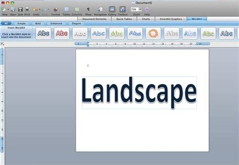 Landscape In Word How To Print A Page In Landscape Orientation Techwalla