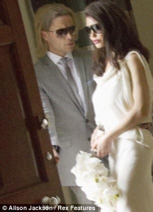 angelina jolie and brad pitt wedding pictures: we spy on