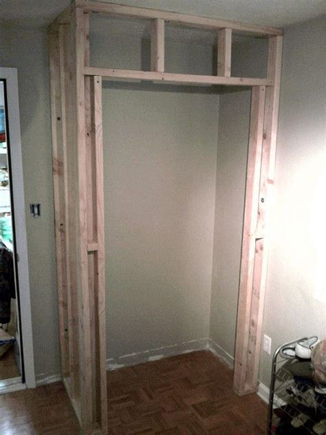 Building A Wardrobe - how to build my own closet organizer from scratch