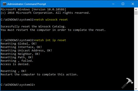 resetting wifi on windows 10 fix wifi ethernet doesn t have a valid ip configuration