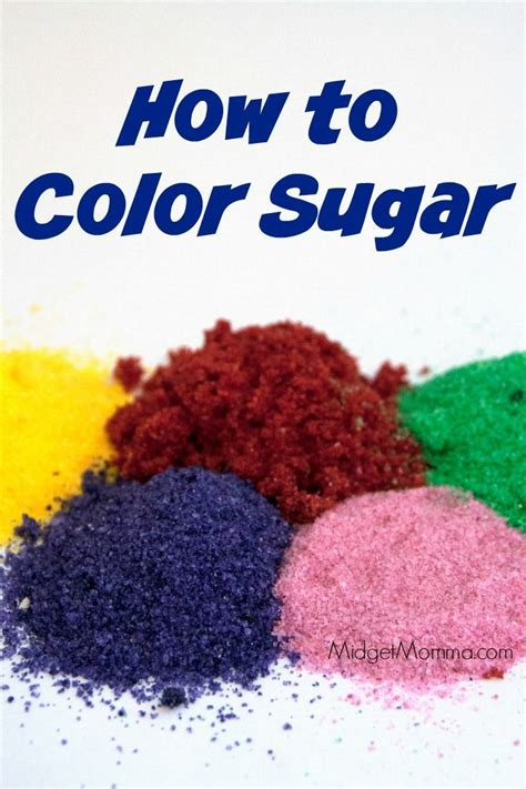how to make colored sugar the 25 best colored sugar ideas on recipe for