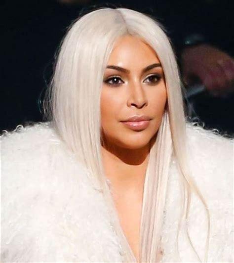 kim kardashians new hair color will make you do a double take kim kardashian new hair revealed on snapchat today com