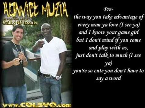 colby odonis what you got ft akon colby o donis ft akon what you got