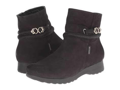 Daos Azzura Boots Hitam 3 mephisto s shoes
