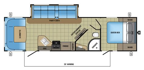 jayco cer floor plans jayco cer floor plans jayco trailers floor plans 28 images