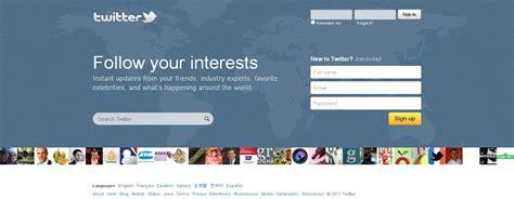 design home twitter twitter com gets new homepage design screenshot