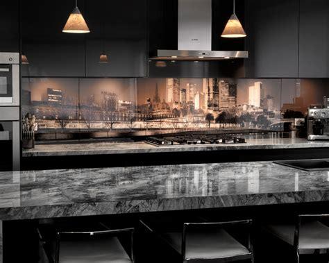 modern kitchen splashbacks vr glass kitchen splashback melbourne skyline