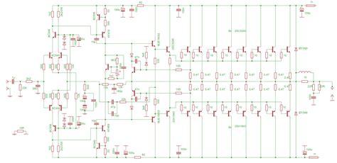 transistor c5200 circuit c5200 transistor lifier circuit diagram 28 images 700w leach lifier transistor lifier