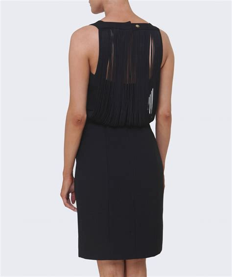 dress drape versace collection drape back dress jules b