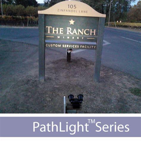 Solar Flood Lights For Signs Solar Sign Lights And Lighting Kits
