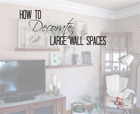 how to decorate a large wall in living room how to decorate a large wall designed decor