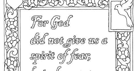 coloring pages not printable coloring pages for by mr adron 2 timothy 1 7