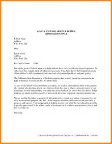 Explanation Letter For School 8 Explanation Letter For Absent Fancy Resume