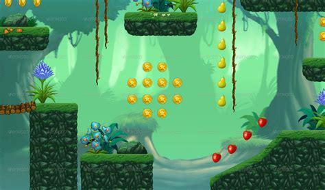 tileset platform game   blueacesky graphicriver