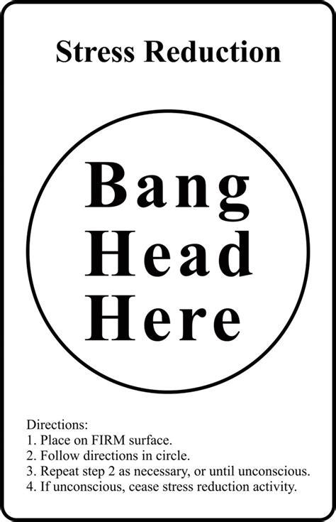 bang head  paper print humor posters  india buy