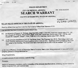 Search Warrant Template by Irlbeck Computer