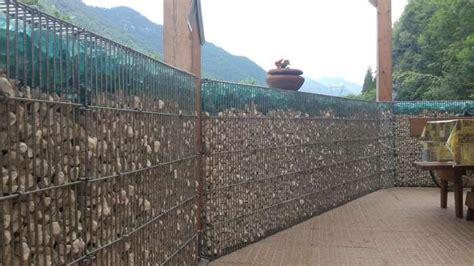 reti divisorie per giardini gabbioni per pareti divisorie e recinzioni