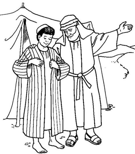 Coloring Pages And Joseph Jozef Krijgt Zijn Mooie Jas Godsdienst Werkjes by Coloring Pages And Joseph