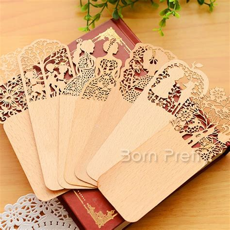 wood pattern making book 2 03 vintage hollow flower bookmark beautiful ultrathin