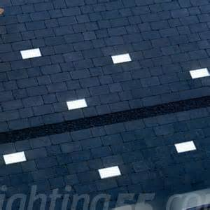 ground lights outdoor led tile 20x10cm outdoor ground light by slv lighting at