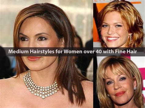 hairstyles for women over 40 with very fine thin hair 2015 images medium hairstyles for women over 40 with fine hair