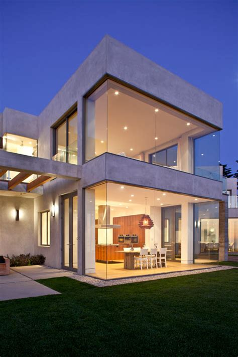 concrete structures design glass house modern house birdview residence by douglas w burdge design milk