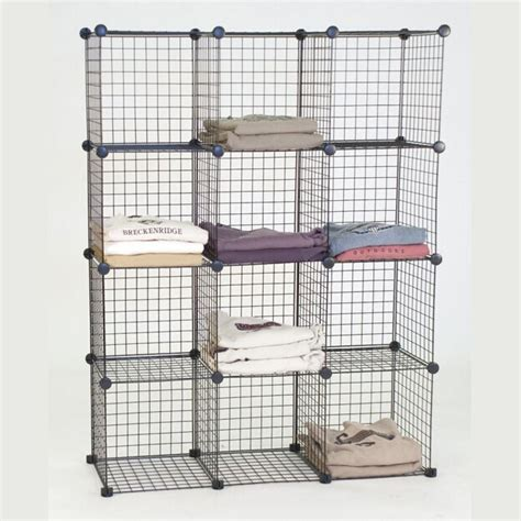 grid wire modular shelving and storage cubes best