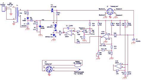 Hakko 936 Circuit Diagram