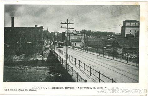 Baldwinsville Post Office by Bridge Seneca River Baldwinsville Ny