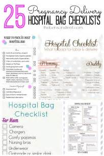 delivery checklist template 25 pregnancy delivery hospital bag checklists the benson