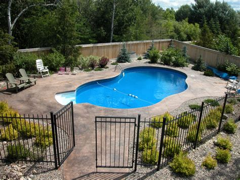 backyard pool fence ideas landscaping companies ta fl retaining wall design by