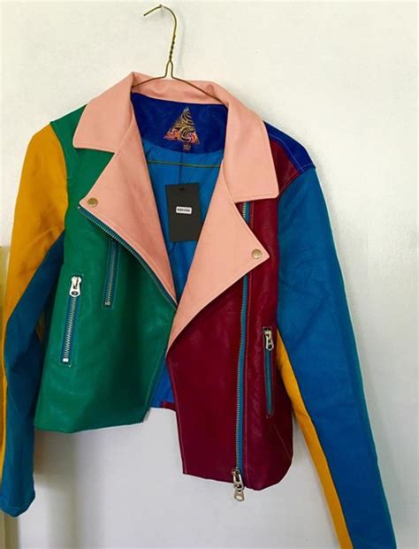 colorful nike jacket jacket multicolor colorblock colorful perfecto