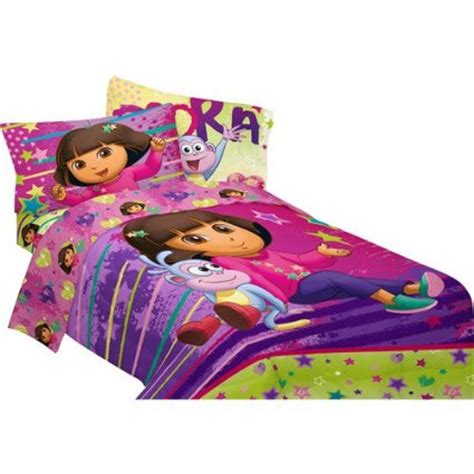 dora the explorer bedroom set dora the explorer bedding cool stuff to buy and collect