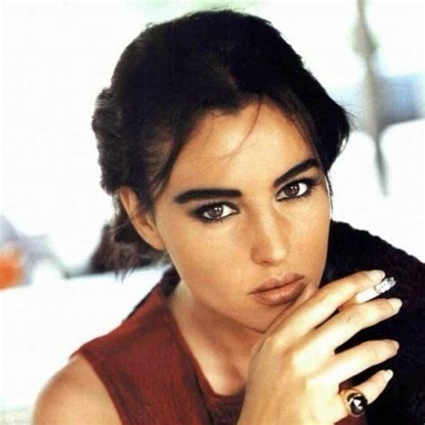 monica bellucci early years 35 years have passed but monica bellucci still as