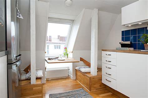 attic apartment stockholm attic apartment blends scandinavian ease with interiors