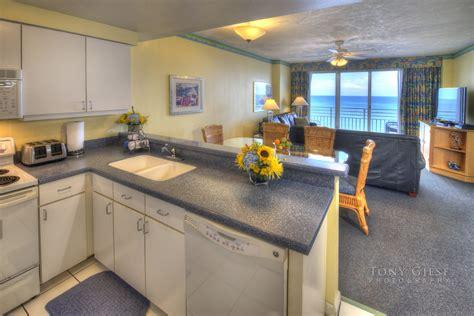Daytona Room by Condo Kitchen Interior Wyndham Walk Resort Daytona