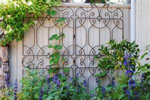 decorative metal trellis panels 25 ideas for decorating your garden fence