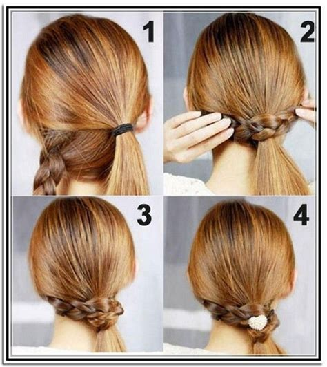 updo hairstyles casual days how to do easy updos for medium length hair beauty and
