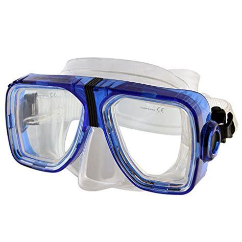 Harga Murah Snorkeling Mask Blue promate optical corrective scuba snorkeling mask trans blue nearsight 3 0 sporting goods