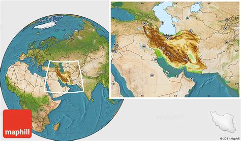 satellite map of iran physical location map of iran satellite outside