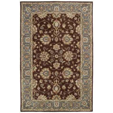Kaleen Mystic Aegon Brown 5 Ft X 7 Ft 9 In Area Rug 5 X 9 Area Rugs