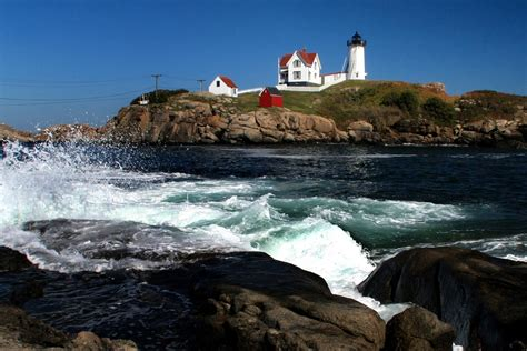 Nubble Light by Nubble Lighthouse Maine Things I