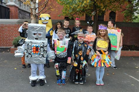 halloween recycled costumes