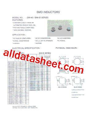 4r7 inductor datasheet smi 50 4r7 datasheet pdf micro electronics