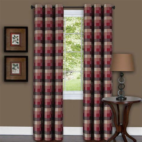 tier curtains bedroom window elements pineapple embroidered 3 piece kitchen