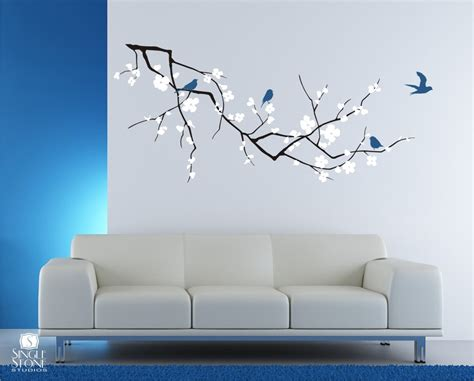 Cherry Blossom Tree Decals For Nursery by Eletragesi Cherry Blossom Stencil Images