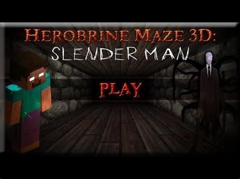 herobrine vs slenderman | how to make & do everything!