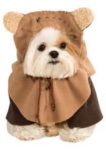 dogs halloween costume ewok pet costume