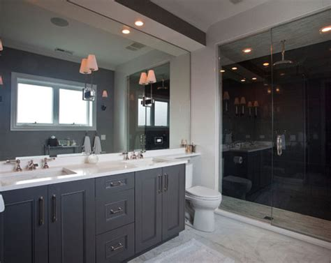 charcoal gray kitchen cabinets white shaker cabinets the psychology of why gray kitchen cabinets are so popular